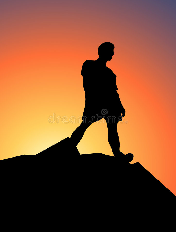 Free King Of The Mountain Royalty Free Stock Image - 1660166