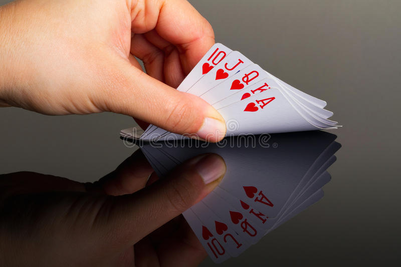 Download King poker in hand stock image. Image of game, lucky - 22823591