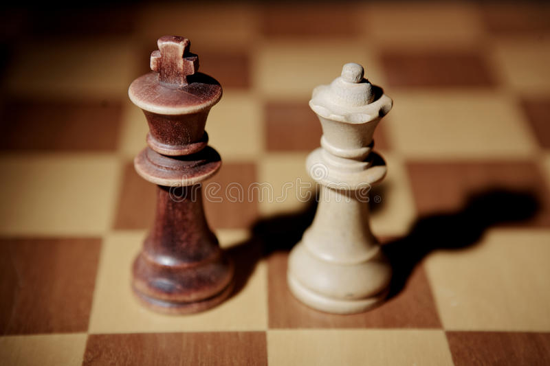 Download The King and the Queen stock image. Image of board, battle - 14187623