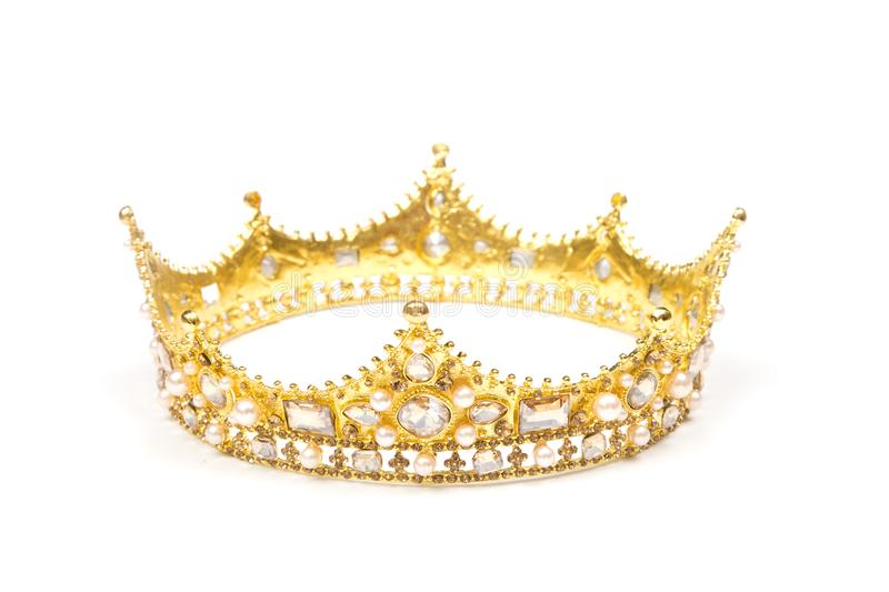 A King or Queens Crown stock image