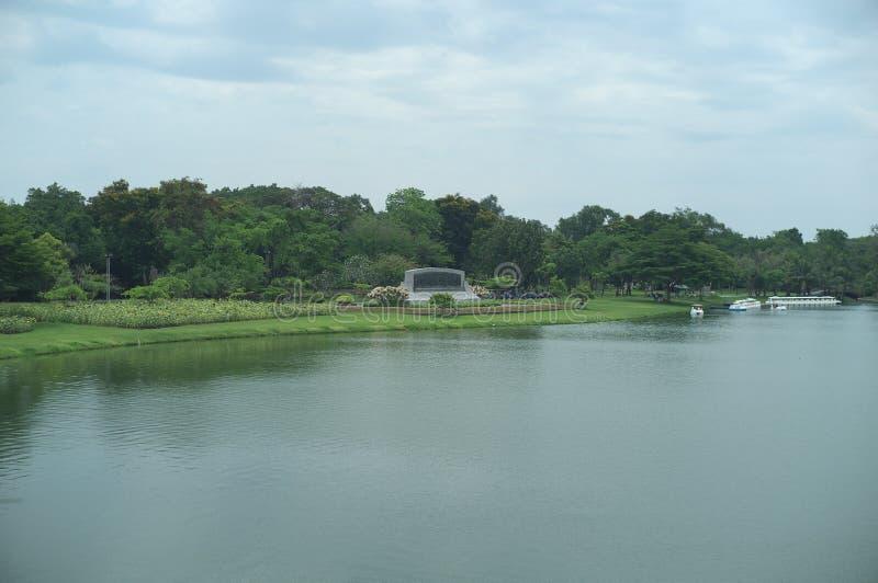King Rama IX Public Park royalty free stock images
