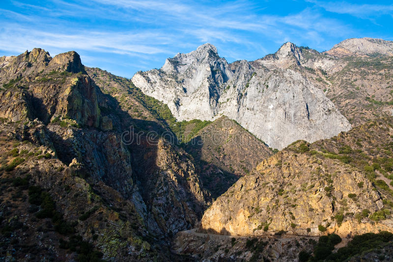 King S Canyon Royalty Free Stock Photography