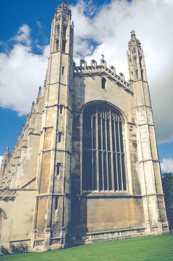 King`s College Chapel, Cambridge, Cambridgeshire, United Kingdom royalty free stock photos