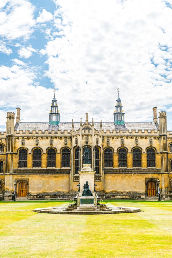 King's College Chapel in Cambridge, UK. Beautiful Architecture at King's College Chapel in Cambridge, UK royalty free stock images