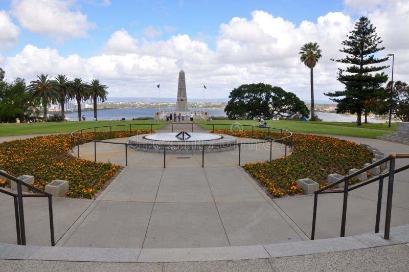 King's Park, Perth: State War Memorial stock photos