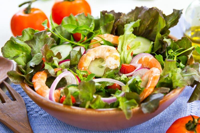 Download King's prawn salad stock image. Image of salad, diet - 25242625
