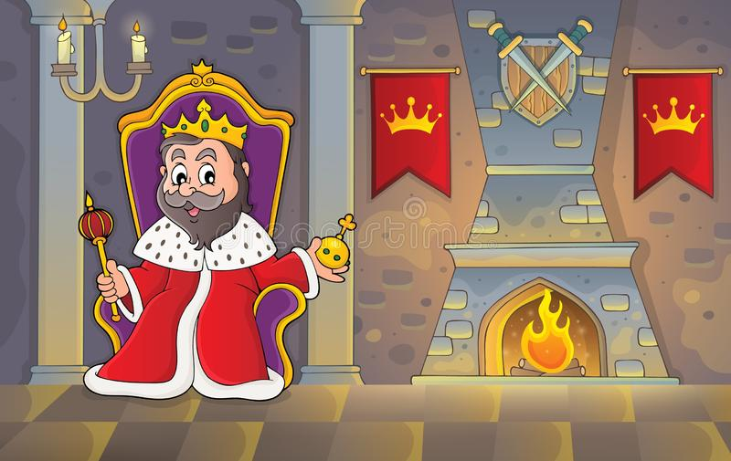 King Throne Clipart. Cute King graphic, throne, crown, single clipart.  African American boy, prince illustration, black ki… | King on throne, Clip  art, Illustration