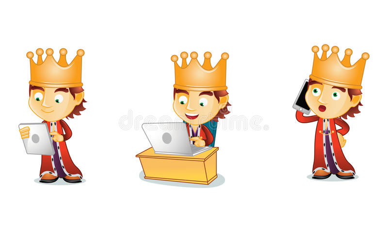 King 3. For your business vector illustration