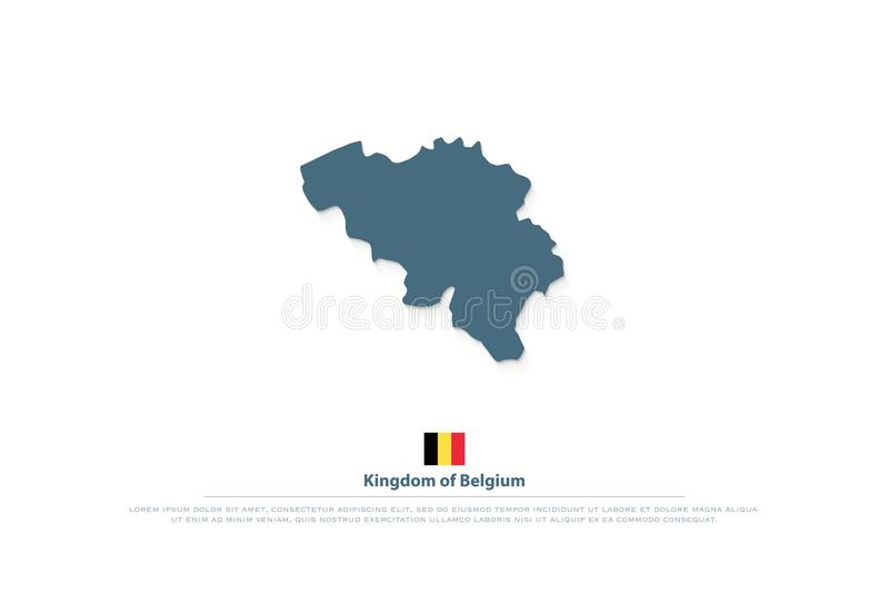 Kingdom Of Belgium Isolated Ma...