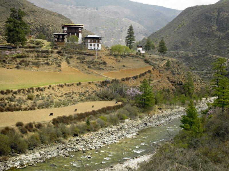 Kingdom of Bhutan stock image