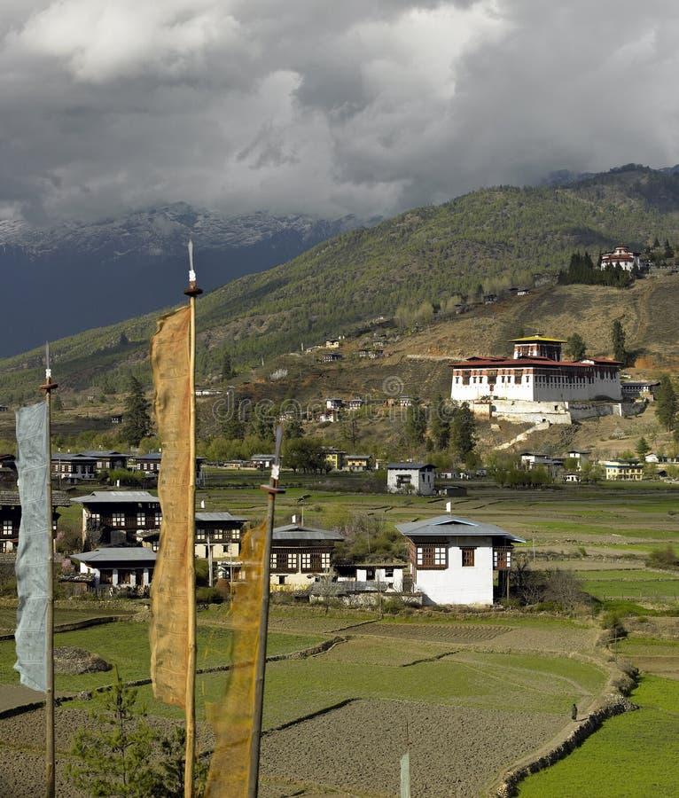 Download Kingdom Of Bhutan - Paro Dzong Stock Image - Image: 22637949