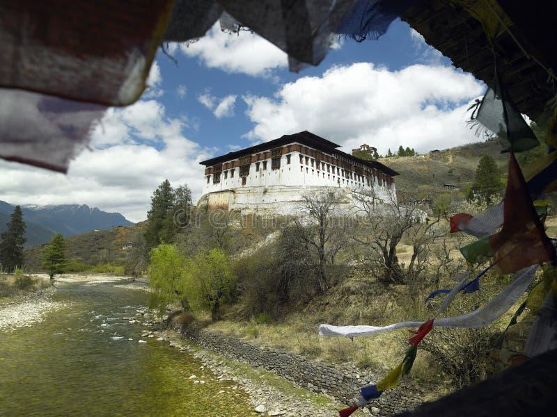 Kingdom of Bhutan - Paro Dzong - Monastery stock images