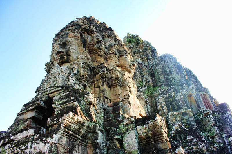 The Kingdom of Cambodia Angkor Wat royalty free stock photography