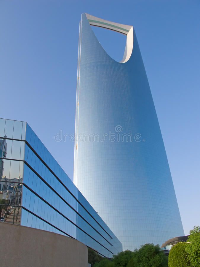 Download Kingdom tower stock image. Image of business, arab, capital - 14914939