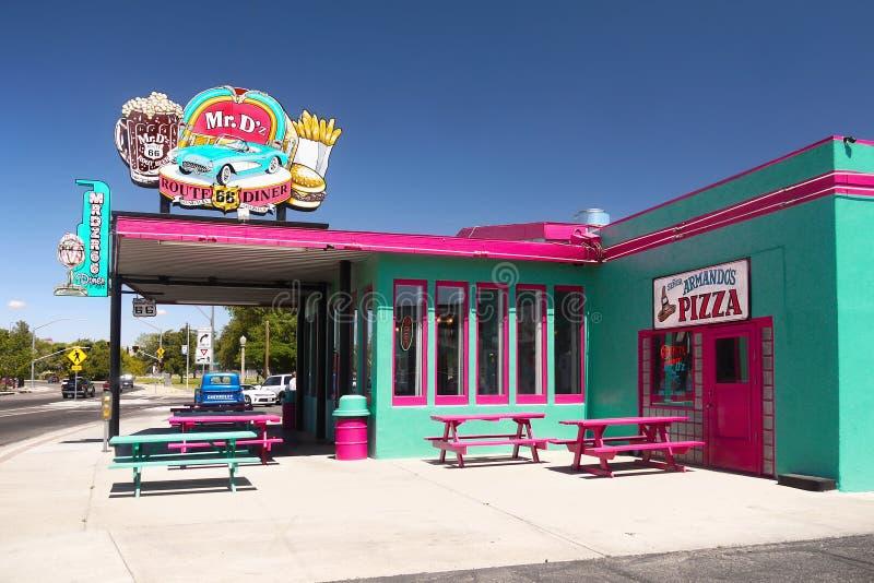 Kingman, историческая трасса 66, Аризона стоковое фото rf