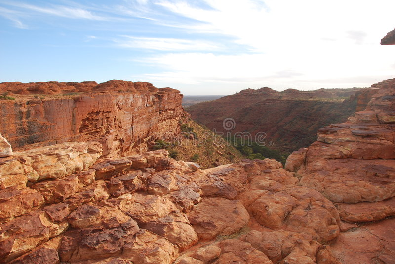 Kings Canyon. In Nothern Territory Australia royalty free stock image
