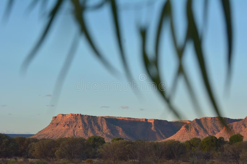 Kings Canyon in the Northern Territory Australia. Landscape view of Kings Canyon in the Northern Territory, Australia stock images