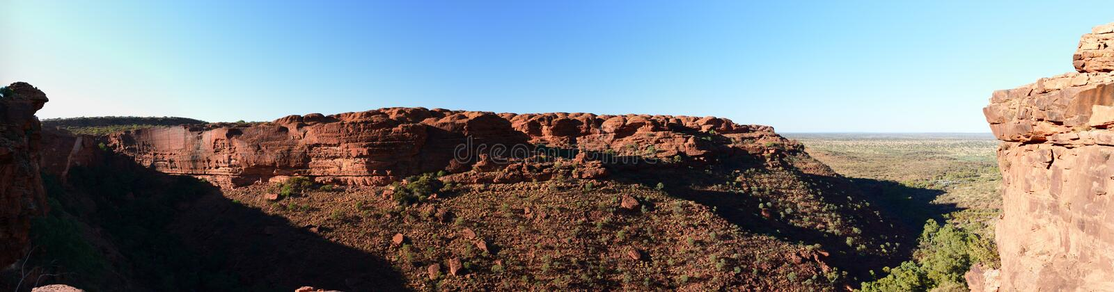 Kings Canyon. Watarrka National Park. Northern Territory. Australia royalty free stock image