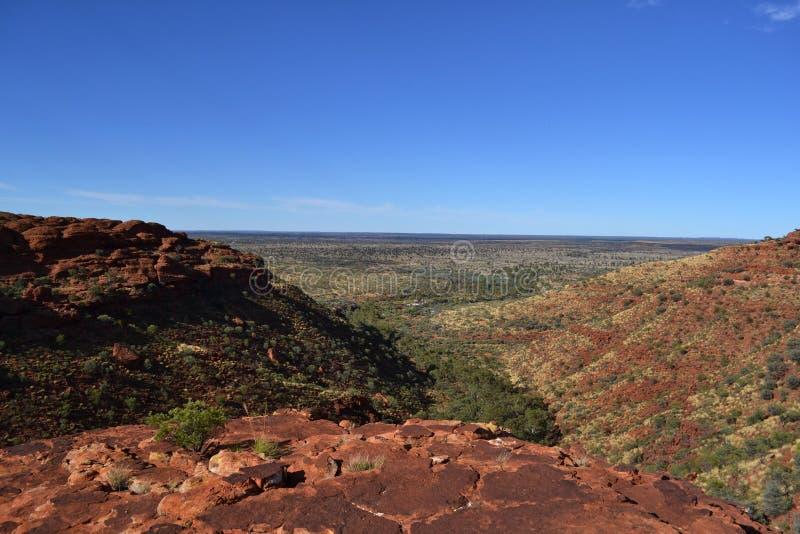 Kings Canyon Wattarka National Park royalty free stock images