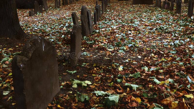 Kings Chapel Burial Ground royalty free stock images