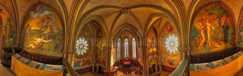 Kings Chappel. Panorama of Kings Chapel, Germany stock photos