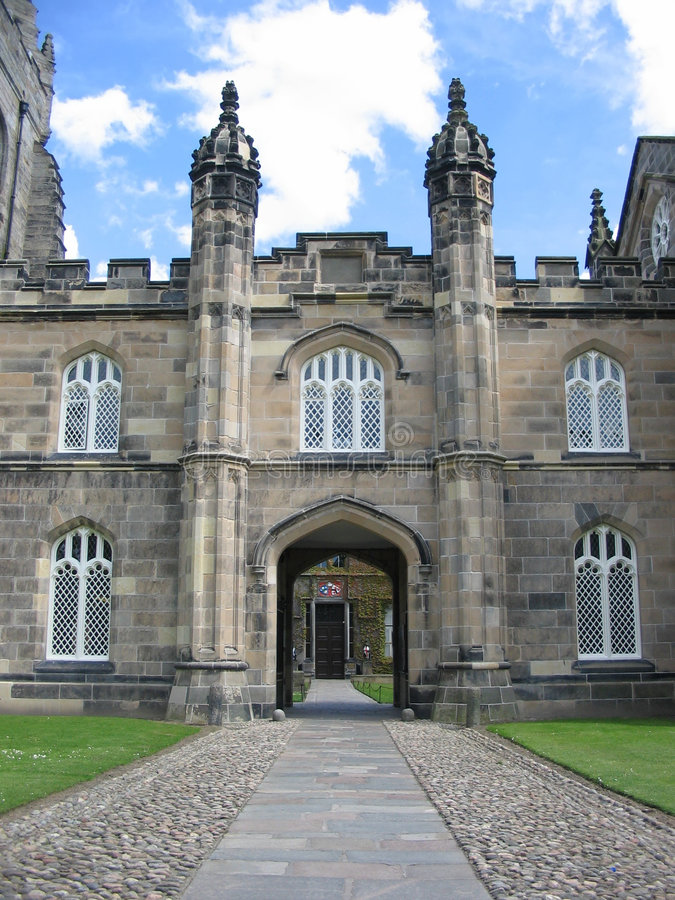 Kings College, Aberdeen royalty free stock photo