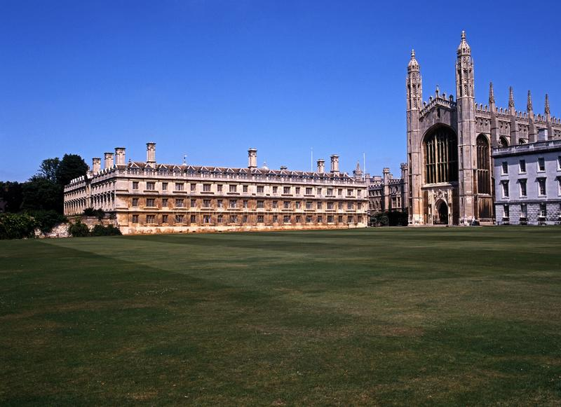 Kings College, Cambridge, England. Buildings of the Kings College, Cambridge, Cambridgeshire, England, United Kingdom, Western Europe royalty free stock photo