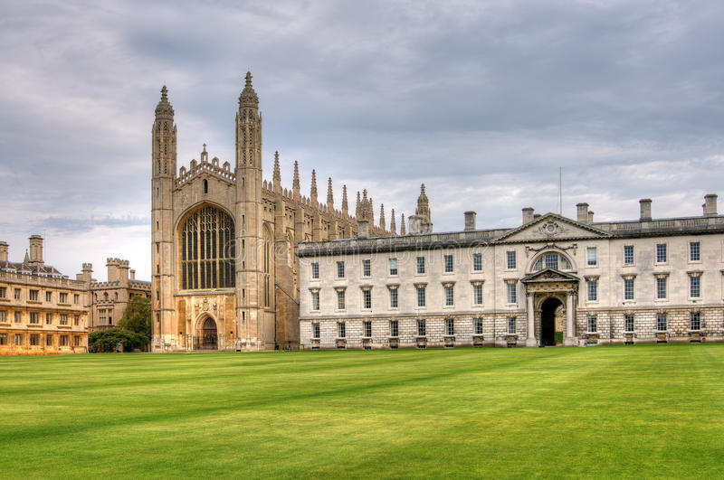 Kings College Chapel. Exterior of Kings College Chapel, Cambridge, UK royalty free stock photography