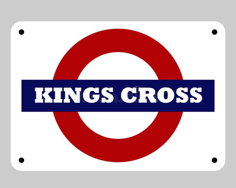 Kings Cross underground sign