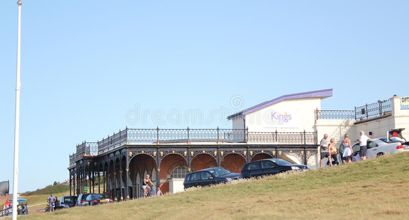 The Kings Hall. This photo shows the Kings Hall in Herne Bay, this hall can be hired out to the public for various occasions like craft fairs antique fairs royalty free stock photo