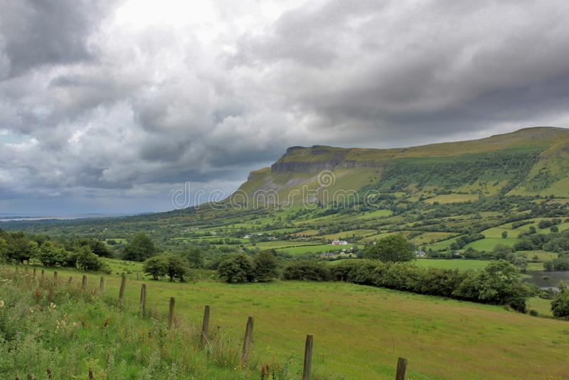 Kings Mountain in Sligo Ireland stock photo