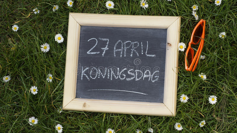 Kingsday fotografia stock