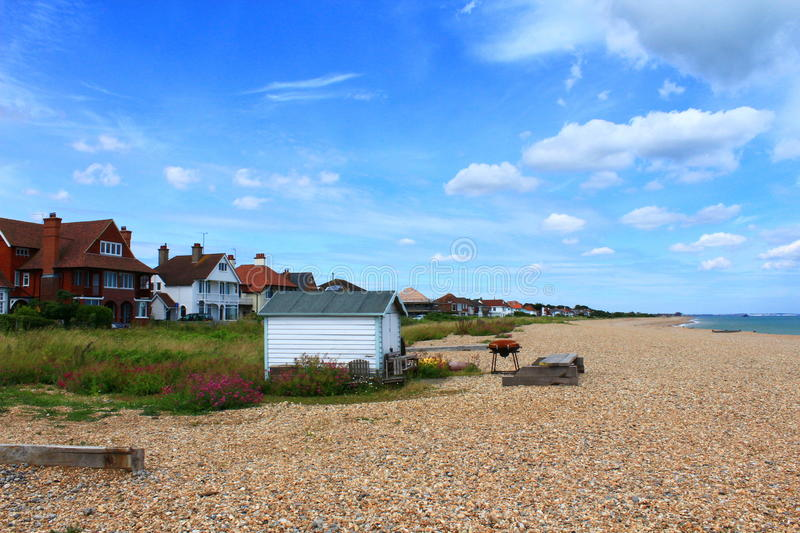 Kingsdown-Strand Kent United Kingdom lizenzfreie stockbilder
