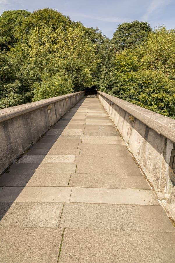 Kingsgate-Steg - Durham, Vereinigtes Königreich lizenzfreie stockfotografie