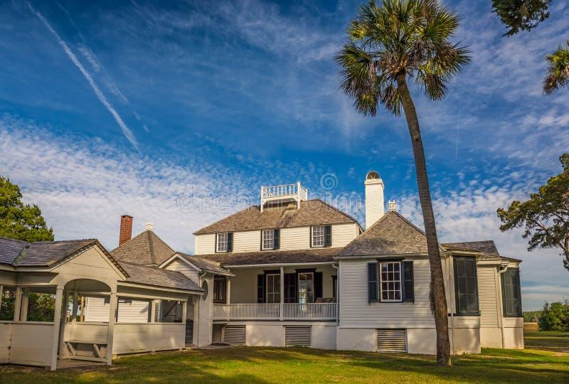 Kingsley Plantation i Jacksonville, Florida royaltyfria foton