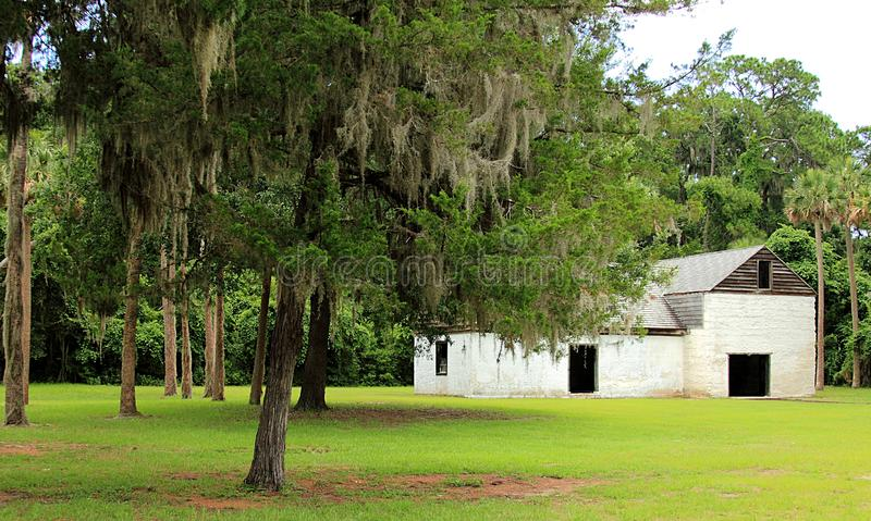 Kingsley Plantation in Jacksonville, Florida stock afbeeldingen