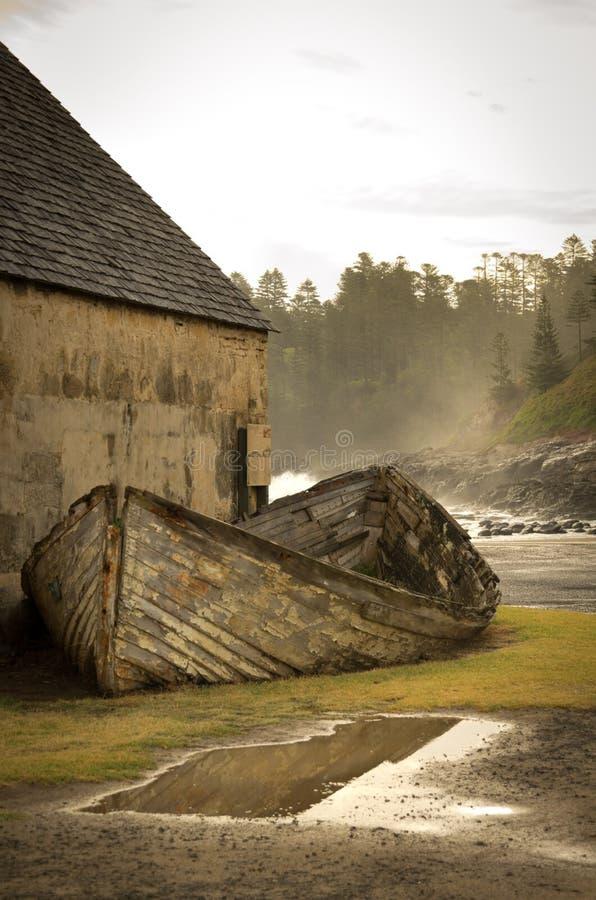 Kingston, Île Norfolk photographie stock libre de droits