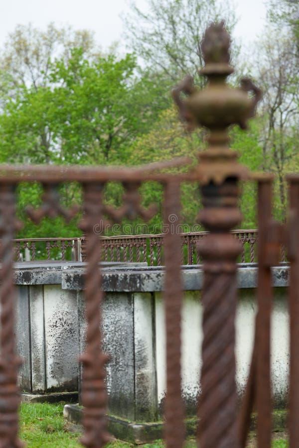 Kingston Cemetery foto de stock royalty free