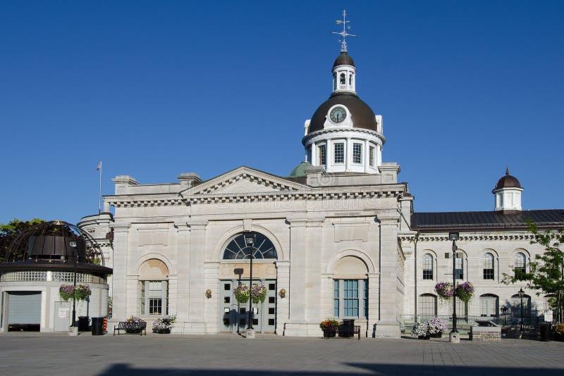 Kingston City Hall, Achtermening royalty-vrije stock foto's