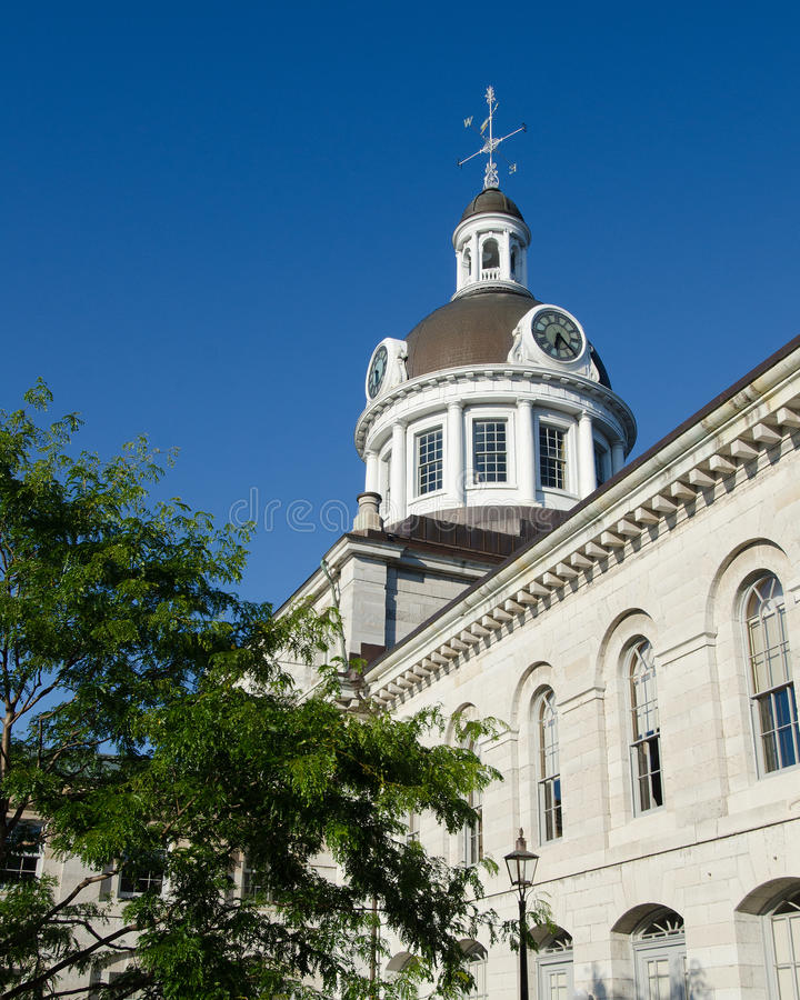 Kingston City Hall Oblique View photographie stock