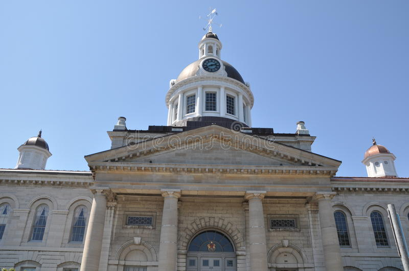 Kingston City Hall in Ontario stock image