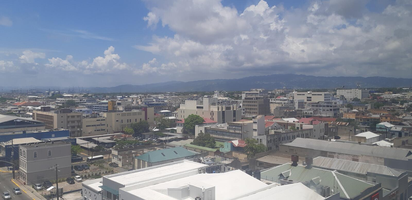Kingston Jamaica stock image