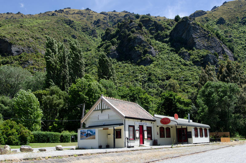Kingston - le Nouvelle-Zélande photo stock