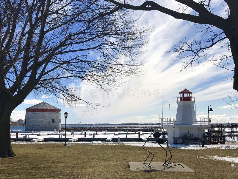 Kingston Lighthouse fotos de stock