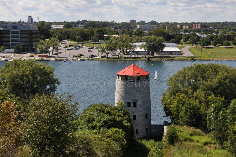 Kingston od fortu Henry wzgórza, Kanada obraz stock