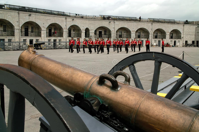 Download Kingston Ontario Canada Fort Henry Guard Editorial Photography - Image: 20535217