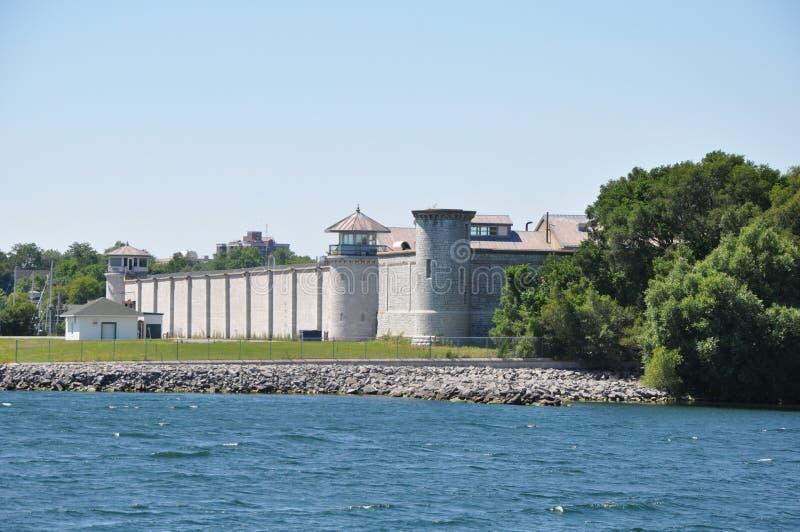 Kingston Penitentiary en Ontario, Canadá imagen de archivo