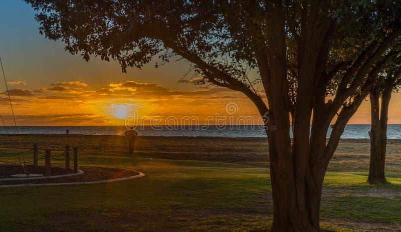 Kingston sunset royalty free stock image