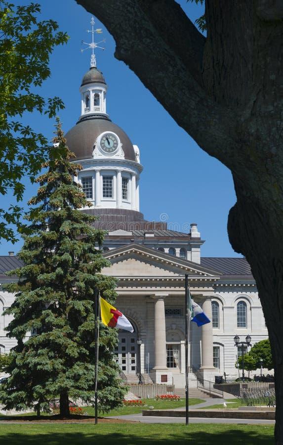 Kingston Town Hall, Kingston, Canada immagine stock libera da diritti
