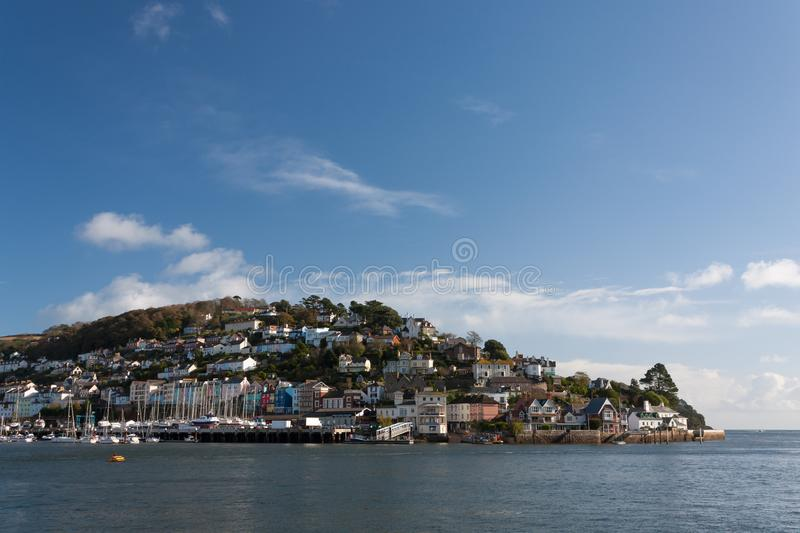 Kingswear Dartmouth obraz royalty free